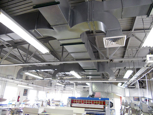College HVAC Install